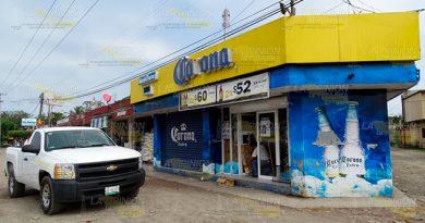 Roban depósito cervecero de la comunidad Chapopote, Veracruz