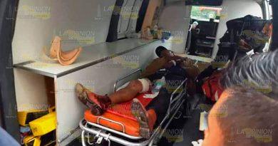 Sangrienta balacera 2 heridos un detenido en Martínez de la Torre