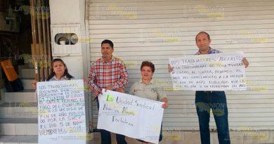 Se declaran en paro de brazos caídos en IVEA de Tuxpan