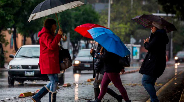 Se esperan lluvias fuertes en el sureste de México y Península de Yucatán