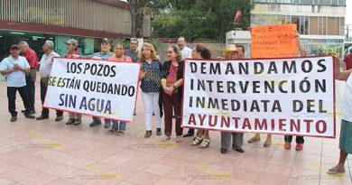 Se quedan sin agua en la colonia Rueda de Poza Rica