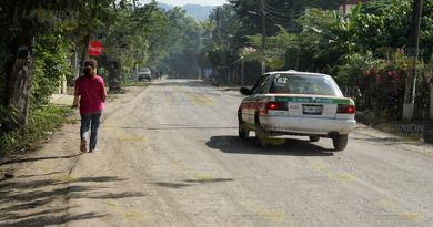 Sin transporte hacia Paso del Pital por carretera en mal estado