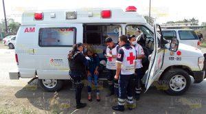 Vehículo americano impacta a taxista en Álamo