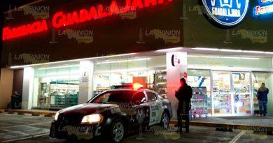 Violento asalto en farmacia de Poza Rica