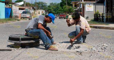 Deficiente el drenaje de tres sectores de Álamo