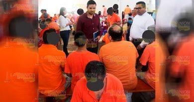 Personal de SSP y DGPRS recorren Centro Penitenciario de Poza Rica