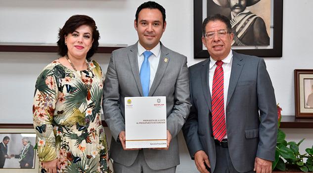 Entrega SEFIPLAN Ajuste al Presupuesto de Egresos 2019