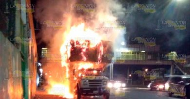 Se les quemó la paja, se incendia torton en Xalapa