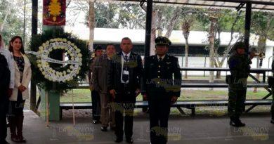 Recuerdan autoridades de Cerro Azul el 106 aniversario de la Decena Trágica