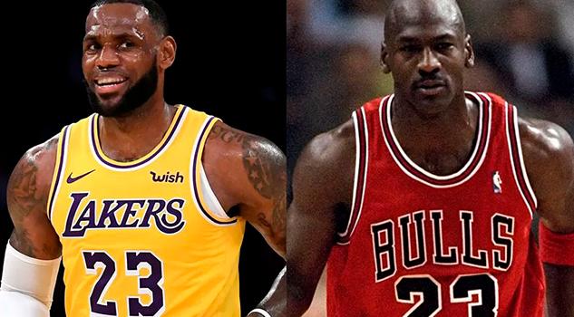¡El Rey rebasó a Su Majestad! LeBron James desplaza a Michael Jordan en puntos históricos en la NBA