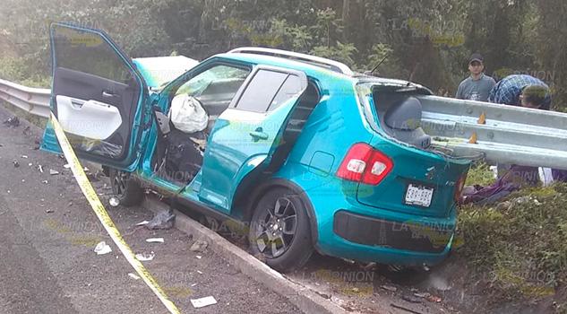 ¡Horrible muerte de pareja sobre la México - Tuxpan!
