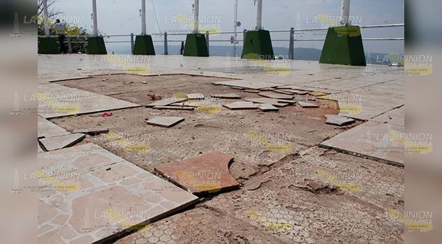 Parque las Américas destruido y olvidado