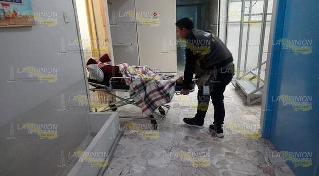 A punto de perder la pierna por mala atención médica en hospital de Tuxpan