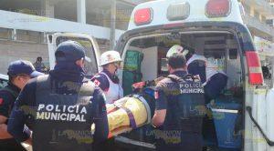 Ama de casa fue atropellada en Tuxpan