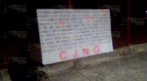 Aparacen narcomantas en la zona conurbada Veracruz - Boca del Río
