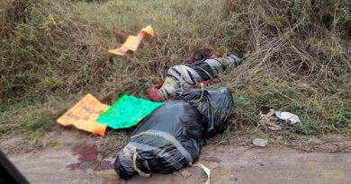 Aparecen cuerpos embolsados en la capital de Veracruz