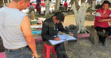 Arte callejero en Cerro Azul, opción de empleo