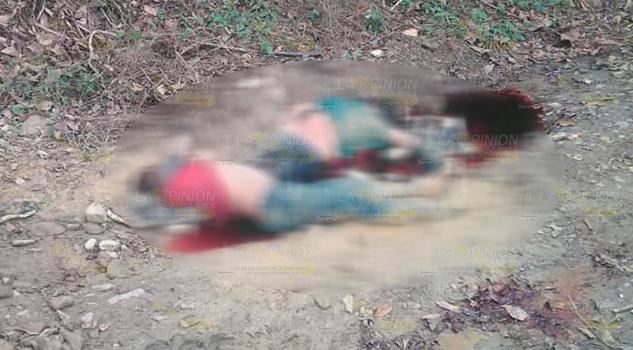 Asesinan brutalmente a pareja en Ixhuatlán de Madero