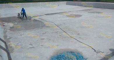 Avanza rehabilitación de Chapoteadero en Tuxpan