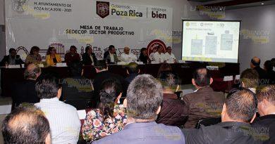 Buscan desarrollo económico en el sector empresarial de Poza Rica