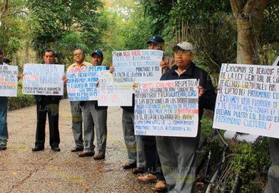 Caos al inicio de Cumbre Tajín por protesta de campesinos