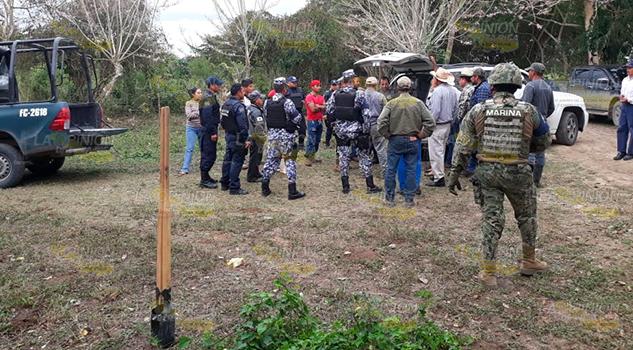 Campesinos se disputan tierras ejidales en Tuxpan