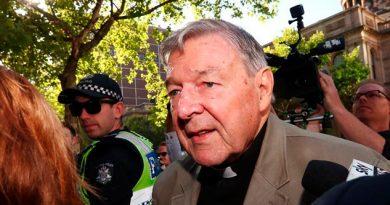 Cardenal George Pell, condenado a seis años de prisión por abuso sexual infantil