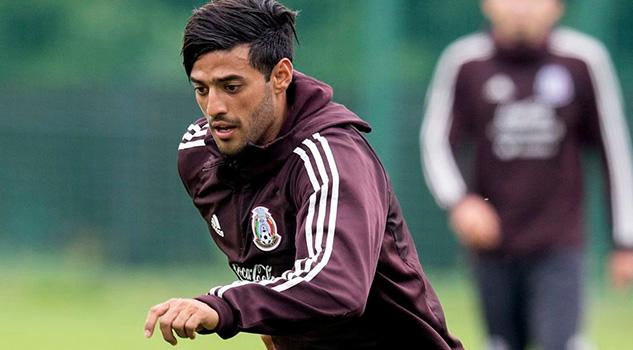 Carlos Vela no estaría con México ante Chile y Paraguay