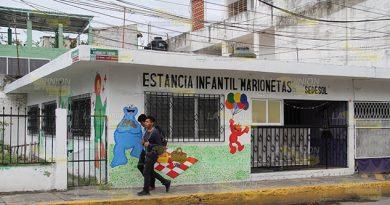 Cierran estancias de Poza Rica por falta de niños