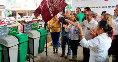 Colocarán contenedores en puntos estratégicos de Poza Rica