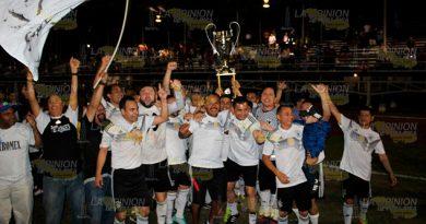Colonia Petromex obtiene sexto título