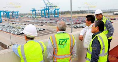 Comercialización vía portuaria al alza en Tuxpan