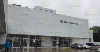 Déficit de 120 plazas en hospital del ISSSTE en Tuxpan