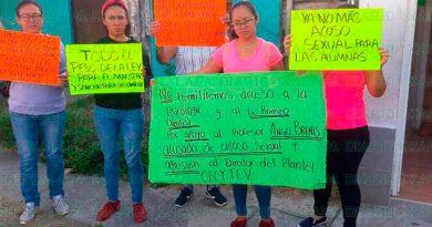 Denuncian a maestro que acosaba sexualmente a las estudiantes en Veracruz