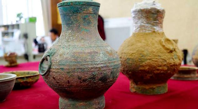 """Descubren supuesto """"elixir de inmortalidad"""" en una vasija china milenaria"""