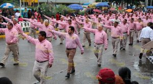 Desfile conmemorativo del LXXXI Aniversario de la Expropiación Petrolera