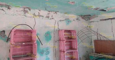Detecta Protección Civil planteles en malas condiciones en Cerro Azul