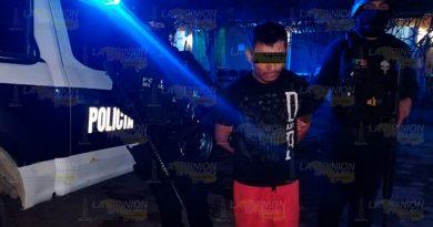 Detienen a sujeto en Papantla por posible posesión de narcóticos