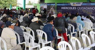 Disminuyen presupuesto para la comunidad de Úrsulo Galván