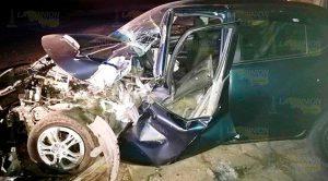 Ebrio sujeto sufre aparatoso accidente en Tlapacoyan