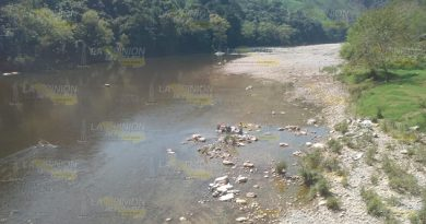 Ecocidio en el Río Necaxa del municipio Coahuitlán