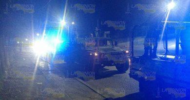 Ejército y Policía Municipal de Cerro Azul, coordinados en seguridad