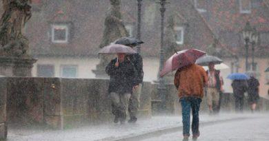 El clima para este 1ro de marzo prevé tormentas y estragos del frente frío