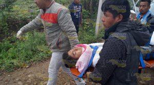 Estudiantes del TEBAEV resultan lesionados en volcadura
