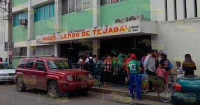 Extreman seguridad en escuelas de Tuxpan