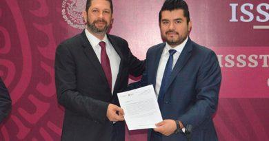 Fernando Kuri, nuevo delegado del ISSSTE en Veracruz