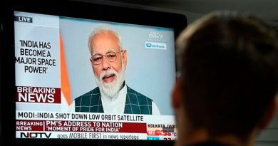 India lanza operación de misiles contra satélites