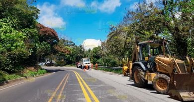 Inservible bacheo en la carretera México - Tuxpan
