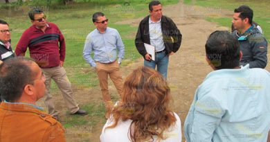Inspeccionan 5 terrenos para plantel CONALEP en Álamo