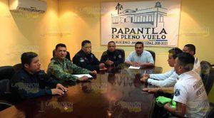 Instancias de seguridad se reúnen para Cumbre Tajín y Papantla Brilla